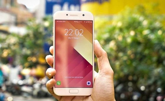 Samsung A5 2017 hư màn hình