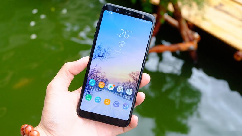 Nguyên nhân màn hình Samsung A6 Plus đơ màn hình