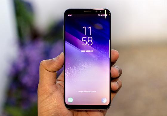 Lỗi màn hình Samsung S8 bị nhấp nháy