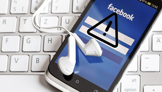 Ứng dụng facebook bị lỗi