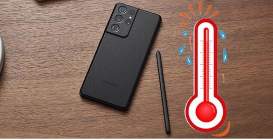 Nguyên nhân Samsung S21 bị nóng máy